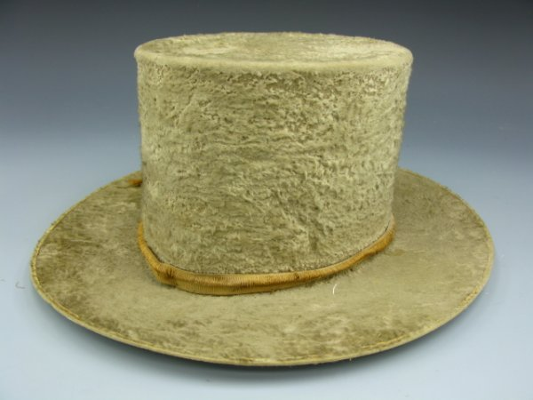519: BROAD BRIMMED QUAKER HAT CIRCA 19TH CEN.