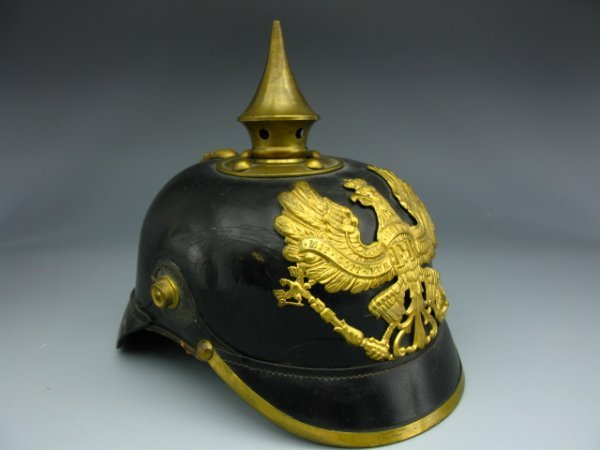 553: PRUSSIAN INFANTRY ENLISTED SPIKE HELMET 1911