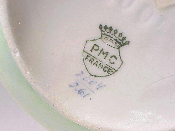 2: French Floriform Porcelain Vase - 2
