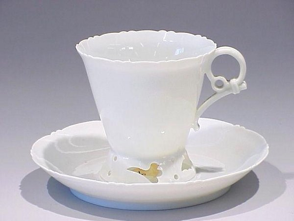 15: Super Thin Eggshell Porcelain Cup and Sau