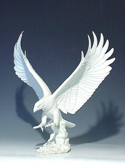 22: Kaiser Bisque Porcelain American Eagle Fi