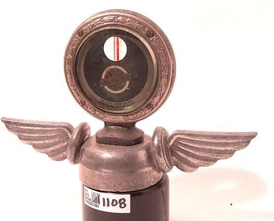 1108: ANTIQUE AUTO MOTOMETER BY BOYCE FOR: STUDEBAKER
