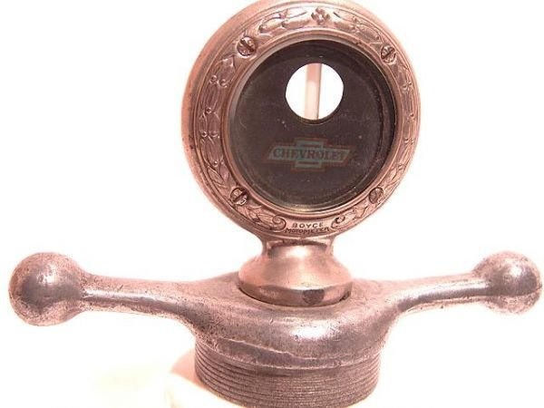1119: ANTIQUE AUTO MOTOMETER BY BOYCE FOR: CHEVROLET