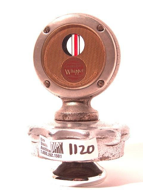 1120: ANTIQUE AUTO MOTOMETER BY BOYCE FOR WHIPPET