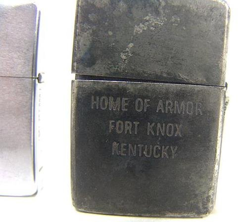1401: TWO VINTAGE MILITARY ZIPPO LIGHTERS - 6