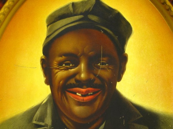 1903 GOETZ BREWING CO TIN SIGN - JERRY'S SMILE #2