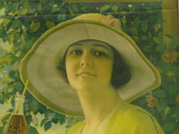 1920 COCA-COLA CALENDAR TOP, ST. JOSEPH BOTTLER