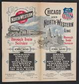 CHICAGO & NORTH-WESTERN LINE TIMETABLE FOR 1899
