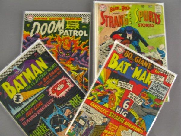 4 DC 12 & 25 CENT COMICS BATMAN, BRAVE & BOLD