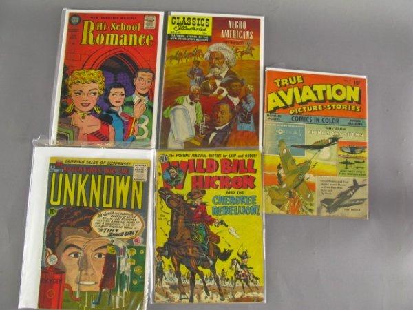 5 HISTORY RELATED COMICS NEGRO AMERICANS