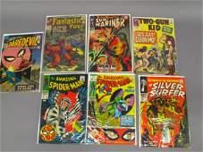 7 MARVEL SUPERHERO 12, 15 & 25 CENT COMICS
