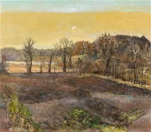 ROBERT SUDLOW (1920-2010) OIL ON CANVAS