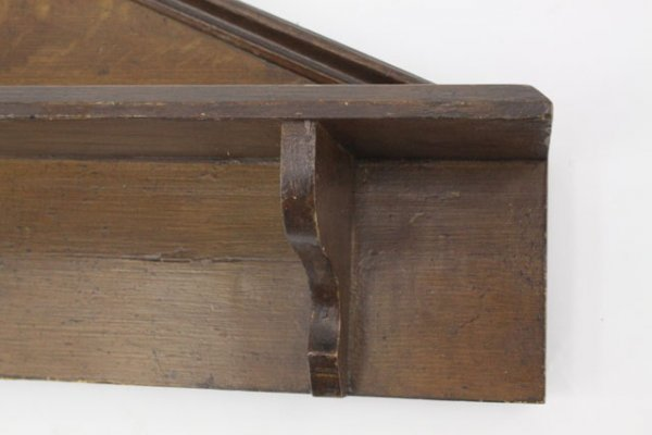 23: CIRCA 1850 GRAINED ARCHITECTURAL SHELF
