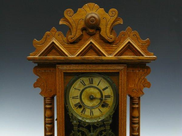ANSONIA ANTIQUE GINGERBREAD MANTEL CLOCK
