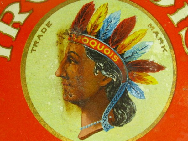 IROQUOIS BREWERY 4.25 INCH TIP TRAY