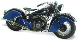 1941 INDIAN SPORT SCOUT MOTORCYCLE