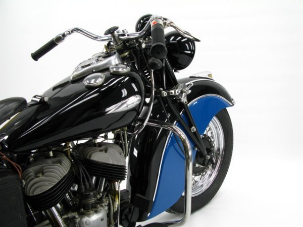 1941 INDIAN SPORT SCOUT MOTORCYCLE - 2