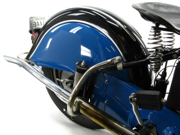 1941 INDIAN SPORT SCOUT MOTORCYCLE - 5