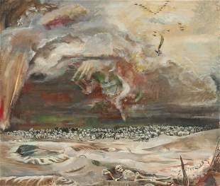 KARL MATTERN (1892-1969) OIL ON CANVAS