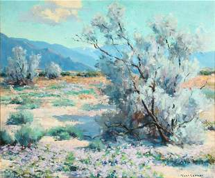 PAUL CONNOR (1881-1968) CALIFORNIA OIL ON BOARD