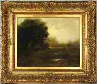 ALBERT DuVANNES (1881-1962) OIL ON CANVAS