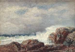 JAMES G. TYLER (1855-1931) OIL ON CANVAS