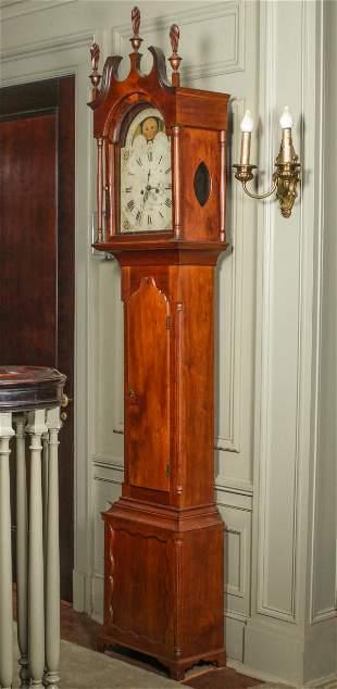 AMERICAN TALL CLOCK KEPLINGER GETTYS BURGH CIRCA 1806