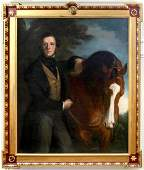 EQUESTRIAN PORTRAIT ATTRIBUTED SIR FRANCIS GRANT
