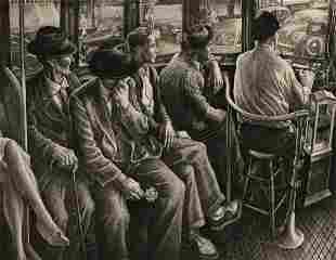 JACKSON LEE NESBITT (1913-2008) PENCIL SIGNED ETCHING