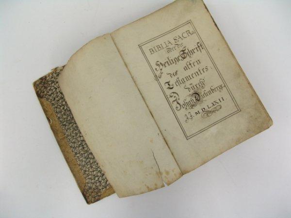 Dietenberger. BIBLIA SACRA OVER DIE HEILIGE SCHRIRR DES