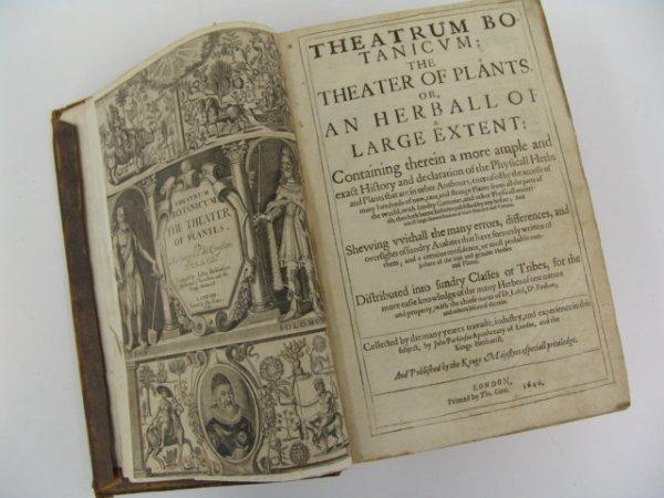 Parkinson. THEATRUM BOTANICUM: THE THEATER OF PLATES, O