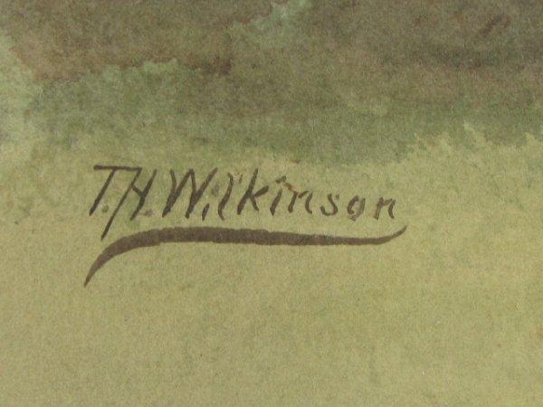 409: T.H. WILKINSON 19C. NEW ENGLAND WATERCOLORS - 10