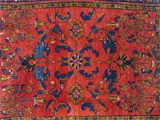 417 A PERSIAN LILIHAN AREA RUG CIRCA 1920S