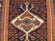 418: A PERSIAN HAMADAN AREA RUG CIRCA 1930