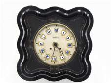 FRENCH MORBIER PICTURE FRAME WALL CLOCK