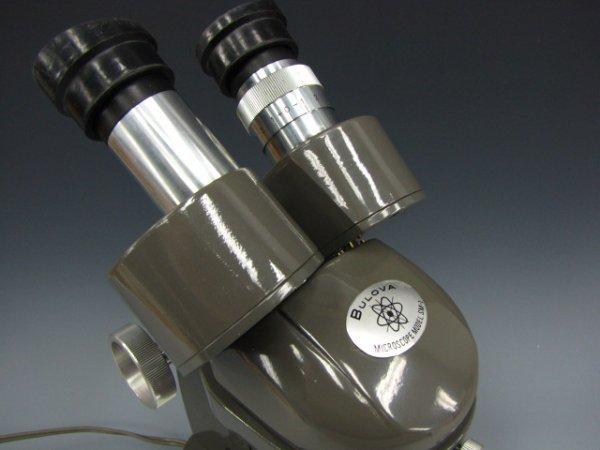 BULOVA SM-1 STEREO MICROSCOPE WITH CASE - 2