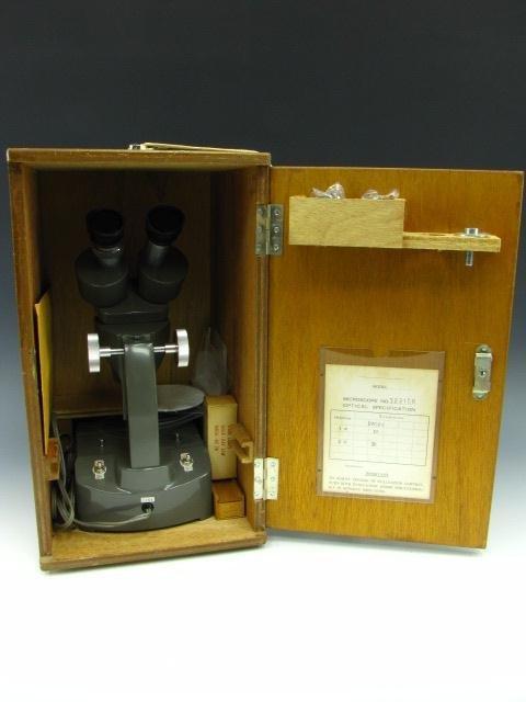 BULOVA SM-1 STEREO MICROSCOPE WITH CASE - 4