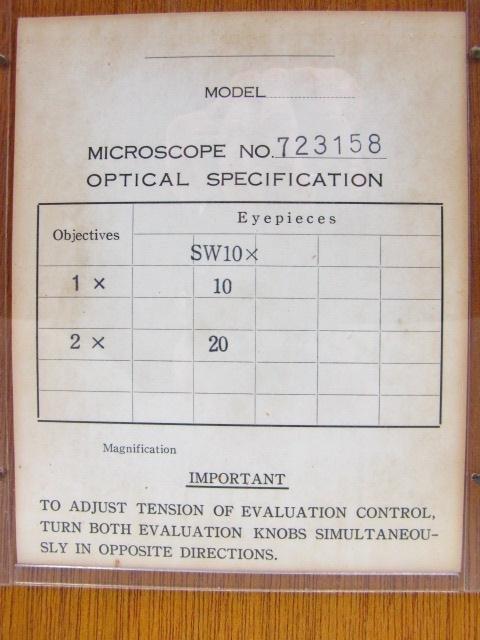 BULOVA SM-1 STEREO MICROSCOPE WITH CASE - 5