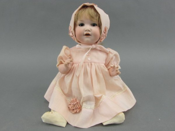 AN A. M. 971. BISQUE HEAD BABY DOLL