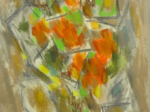 WARD LOCKWOOD  (1894 - 1963) WATERCOLOR AND PASTEL