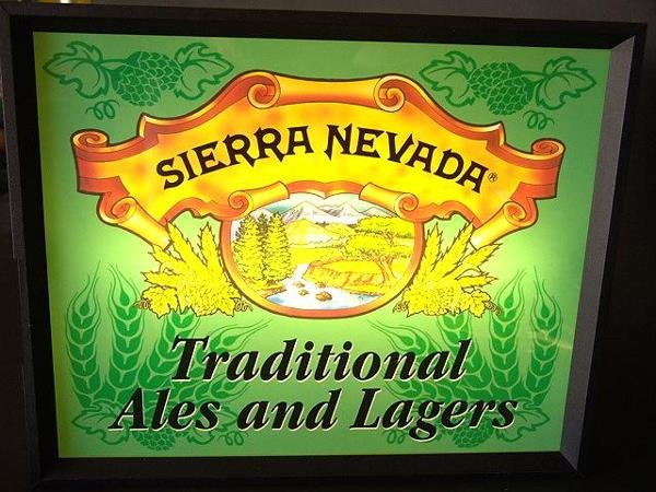 14: SIERRA NEVADA LIGHTED BEER SIGN