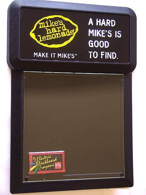 24: MIKE'S HARD LEMONADE LIGHTED CHALKBOARD