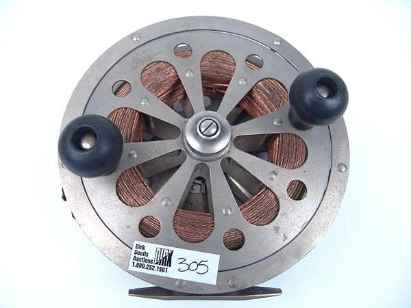305: PFLUEGER SAL-TROUT #1558 1930'S FISHING REEL IN OR - 4