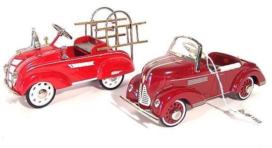 1313: 2 HALLMARK KIDDIE CAR CLASSICS: 1941 GARTON, 1941