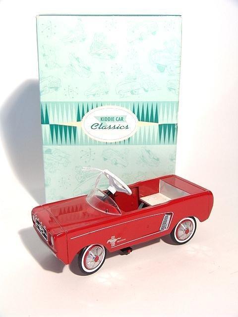 1318: HALLMARK KIDDIE CAR CLASSICS 1964.5 FORD MUSTANG