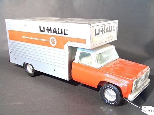 1319: NYLINT U-HAUL TOY TRUCK