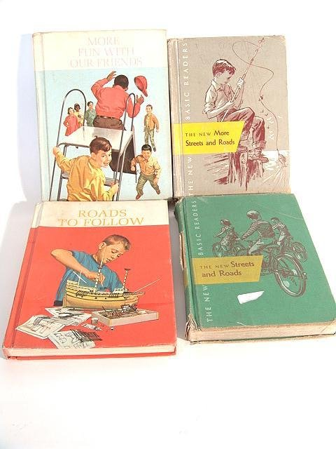 1320: FOUR DICK AND JANE READER BOOKS