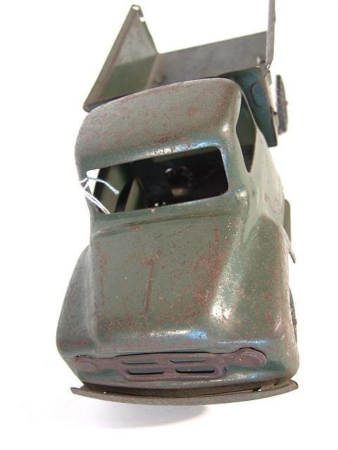 1368: BUDDY L ARMY SUPPLY CORPS PRESSED STEEL TOY TRUCK - 3