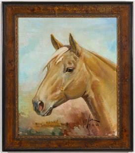 ORREN MIXER (1920-2008) QUARTER HORSE HALL OF FAMER