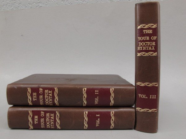 THE TOUR OF DOCTOR SYNTAX THREE VOLUMES